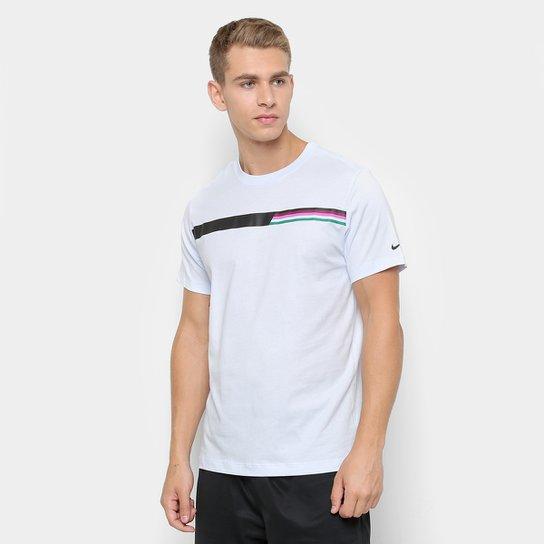 8024513063aae Camiseta Nike Nkct Tee Gx Masculina - Azul Claro - Compre Agora ...