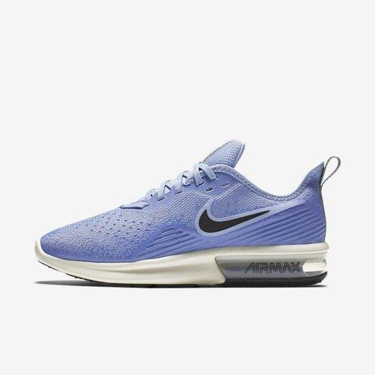 9d44d872fac5e Tênis Nike Air Max Sequent 4 Feminino - Azul - Compre Agora