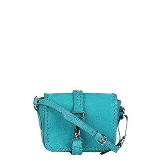 b960b684f Bolsa Luiza Barcelos Mini Bag Fechamento Frontal