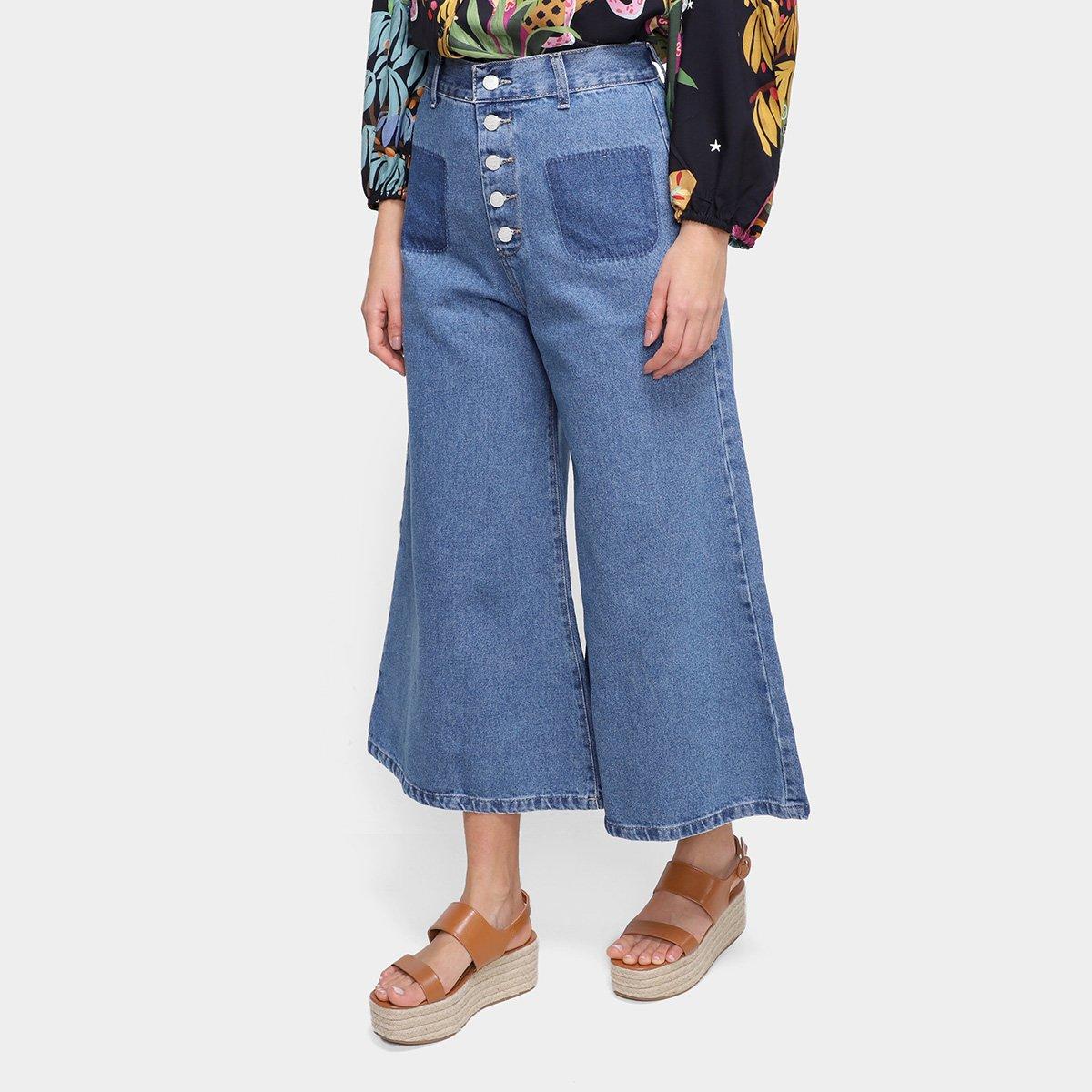 Calça Jeans Farm Refarm Cintura Alta Feminina