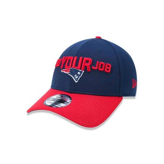Boné 3930 New England Patriots New Era Aba Curva New Era - Azul ... e64d90ae881