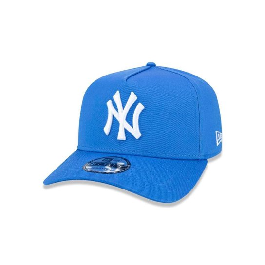 b5ef32525 Boné 940 New York Yankees MLB Aba Curva Snapback New Era - Azul ...