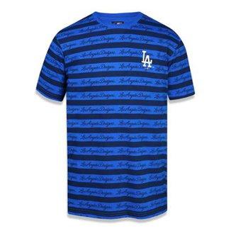90f2953836213 Camiseta Los Angeles Dodgers MLB New Era Masculina
