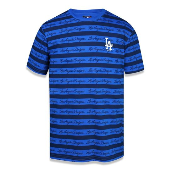 Camiseta Los Angeles Dodgers MLB New Era Masculina - Azul - Compre ... b7750708853