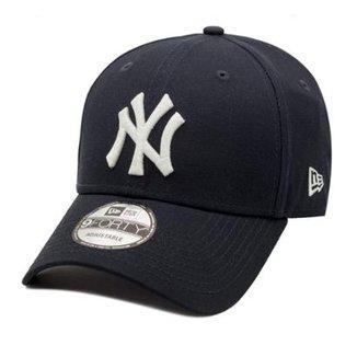 Boné New Era Aba Curva Snapback New York Yankees - Mlb b67e3515fba