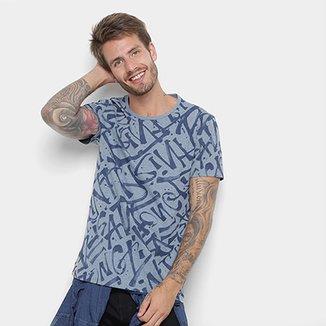 72f52f9117 Camiseta All Free Estampa Full Print Masculina