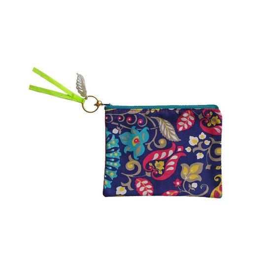 89e18a0cd Necessaire Ania Store Tropical Feminina - Azul | Zattini