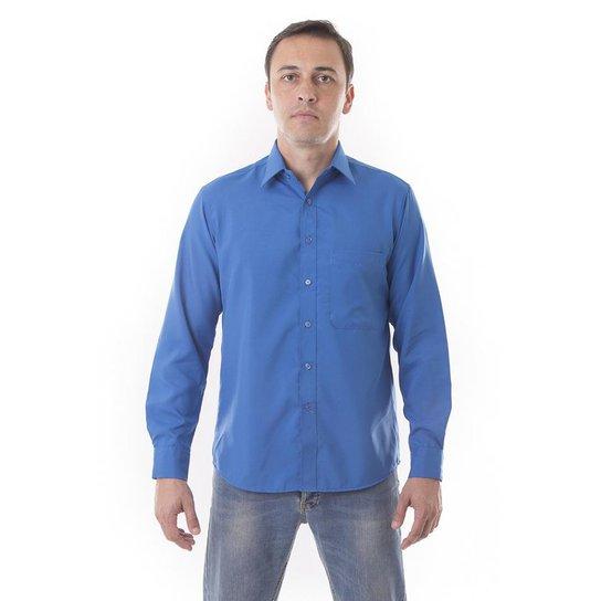 45c503427cf Camisa Social Lisa Microfibra Vuzillo - Compre Agora