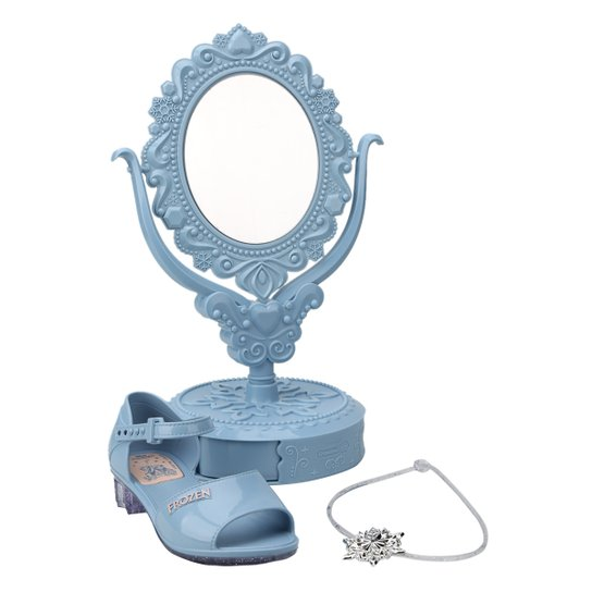 a5b729e85 Sandália Infantil Grendene Frozen Studio de Beleza Feminina - Azul