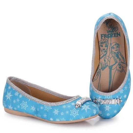 0d6092c7b Sapatilha Infantil Grendene Frozen Ice - Azul - Compre Agora