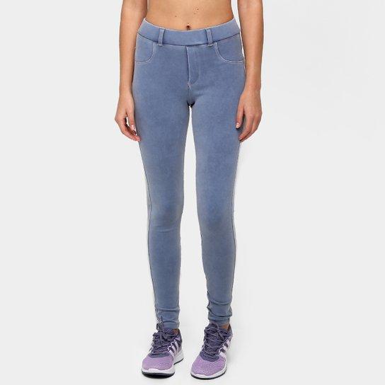a0ed4adfa2 Calça Legging Alto Giro Jeans Eclet Feminina - Compre Agora