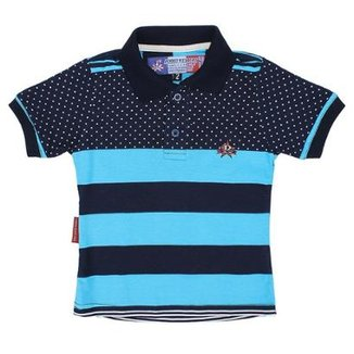 95eb20713 Camisa Polo Infantil Rodeo Western Listrada Masculina