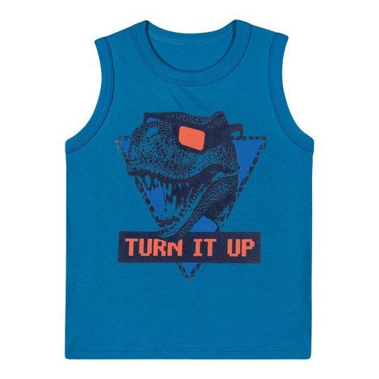 Camiseta Regata Infantil Mineral Kids Masculina - Azul - Compre ... a86d77ca0e1