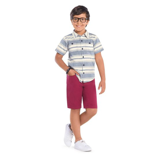 ba144d5b5f Camisa Infantil Trick Nick Masculino - Azul | Zattini