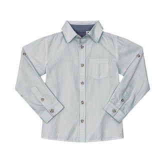 80c3f98e93 Camisa Infantil Tricoline Trick Nick Masculino