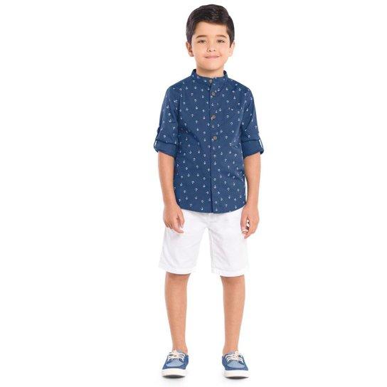 c6257d9c1e Camisa Infantil Trick Nick Masculina - Azul | Zattini