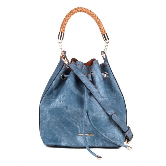 bd02d8c65 Bolsa Saco Jeans WJ Feminina | Zattini