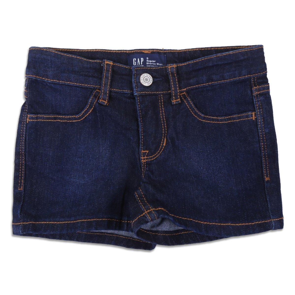 Short Jeans Infantil Gap Liso Feminino