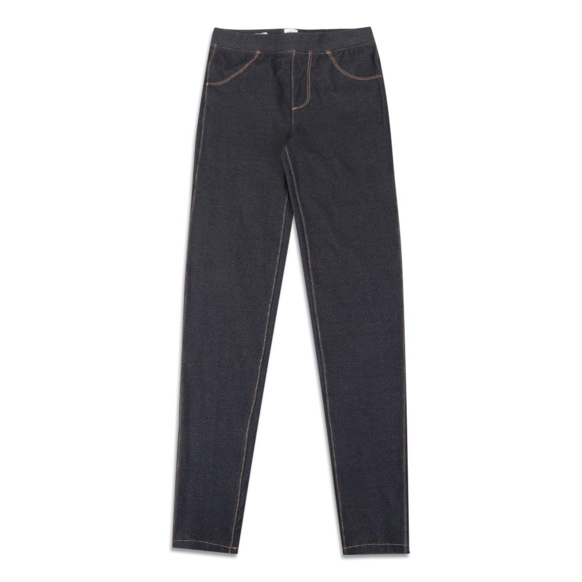 Calça GAP Malha Fake Jeans Feminina