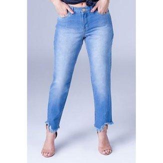 93c79035e Calça Jeans Boyfriend Equivoco Lorena Feminina