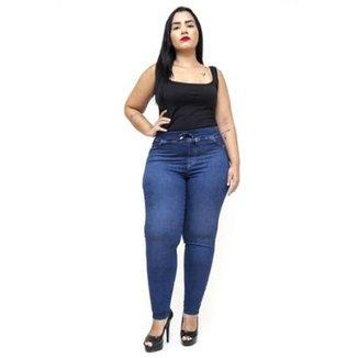 6b5fef391 Calça Jeans Cambos Plus Size Skinny Doracy Feminina
