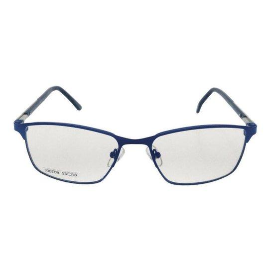 1fd0f4b4d4c92 Óculos de Grau Khatto Fusion Twenty - Azul - Compre Agora