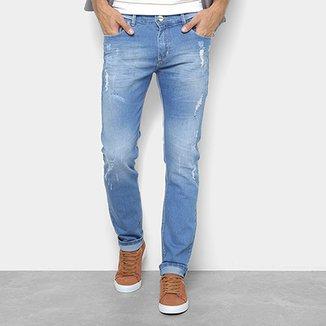 ef2a8d080 Calça Jeans Preston Destroyed Puídos Masculina