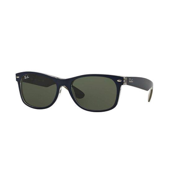 c201aea7e Óculos de Sol Ray-Ban New Wayfarer Masculino - Azul   Zattini
