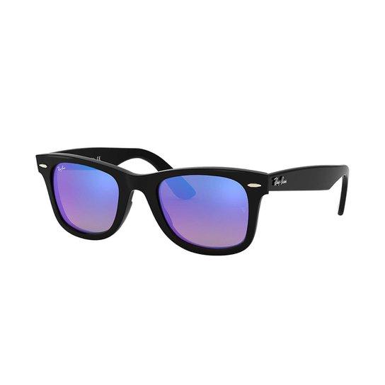 1822d9f2467e1 Óculos de Sol Ray-Ban RB4340 Masculino - Azul - Compre Agora   Zattini