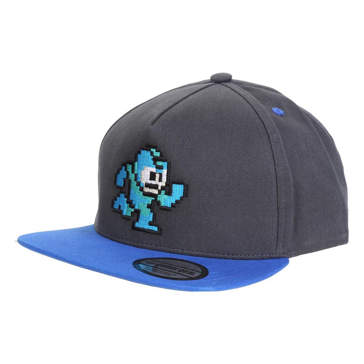 Boné Mega Man 8 Bits Aba Reta