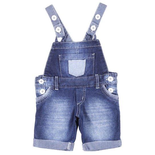 33570b0f8 Macacão Jeans Jardineira Infantil - Compre Agora