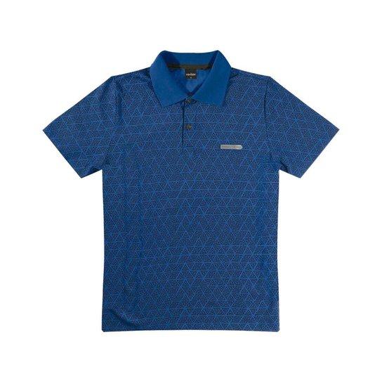 Camisa Polo Infantil Rovitex Masculina - Azul - Compre Agora  a93135b55e33c
