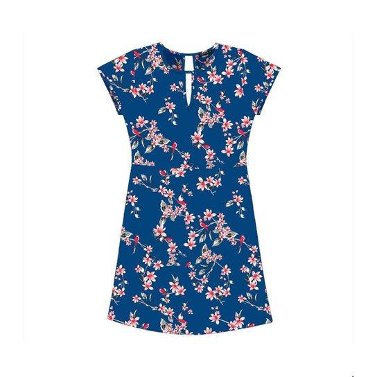 Vestido Rovitex - Azul - Compre Agora  c4c92c4e53
