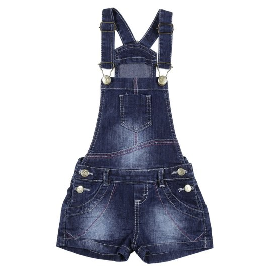 234e05d01 Macacão Jeans Jardineira Infantil Imports Baby - Compre Agora