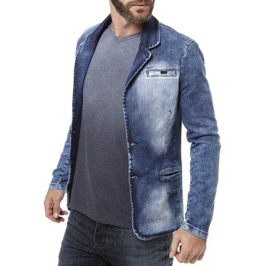 47fa5077bc Blazer Jeans Bivik - Compre Agora