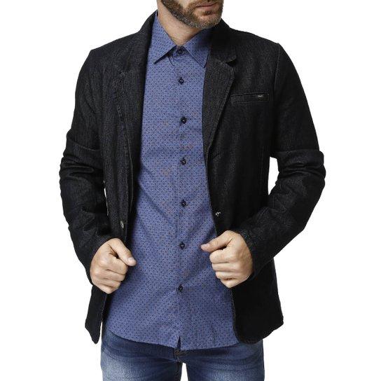 b5b41fa6f Blazer Jeans Masculino Bivik - Azul