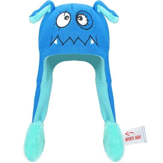 5c33f7f05c042 Touca Gorro Infantil Que Mexe Orelha - Monstro - Azul - Compre Agora ...
