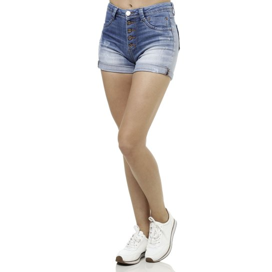 eb5425692 Short Jeans Feminino Azul - Compre Agora | Zattini
