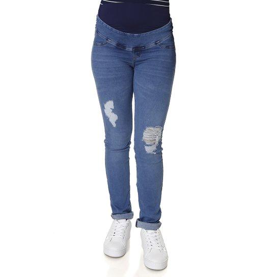 418b700bb Calça Jeans Gestante Cambos Feminina | Zattini