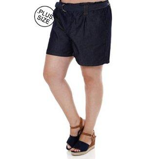 836937725 Short Jeans Plus Size Cambos Feminino