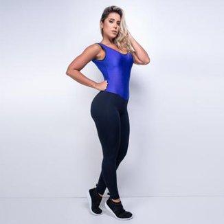 72efd775d Macacão Honey Fitness Textura Ocean Feminino