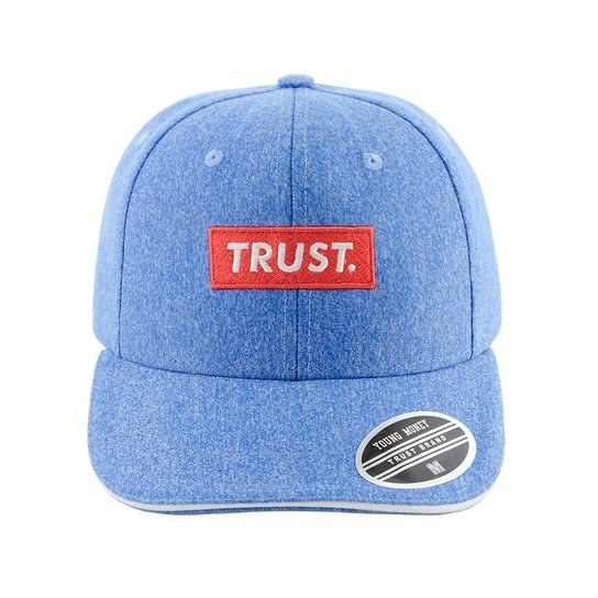 Bone Aba Curva Young Money Snapback Trust - Azul - Compre Agora ... d2d687003d4