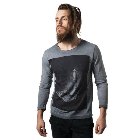 af8b6a7bbcf8b Camiseta Skull Lab - Azul - Compre Agora