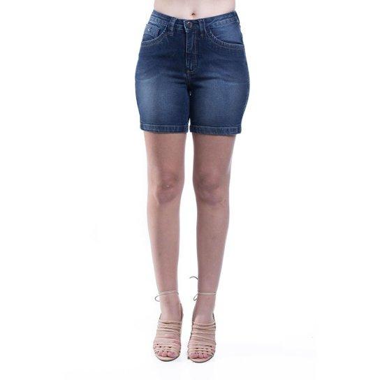 9c2e01abf Shorts Jeans Osmoze Mid Rise Middle Feminino - Azul - Compre Agora ...