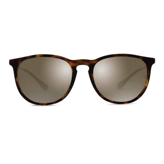 345d40219afbc Óculos de Sol Ray Ban Erika RB4171L 865 5A-54 Feminino - Onça ...