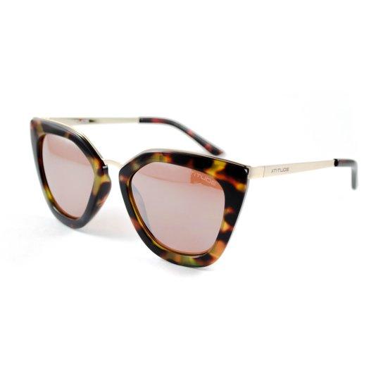 Óculos de Sol Atitude - Onça - Compre Agora   Zattini f6f1360265