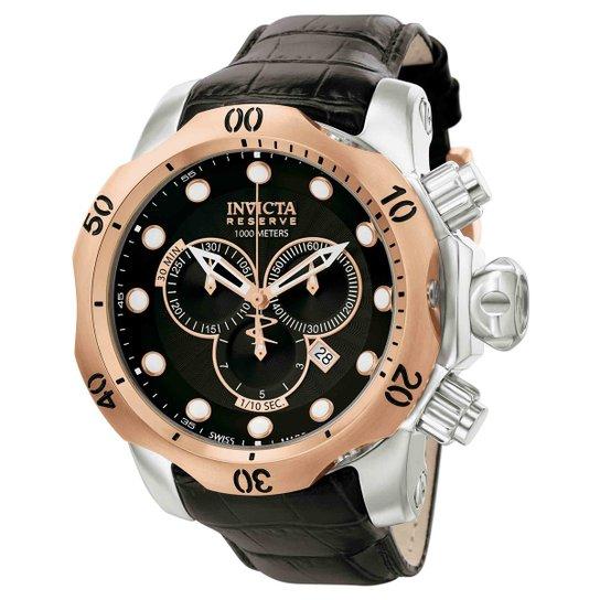 ef2b666f489 Relógio Invicta Subaqua Venom Analógico 0360 Masculino - Salmão e ...
