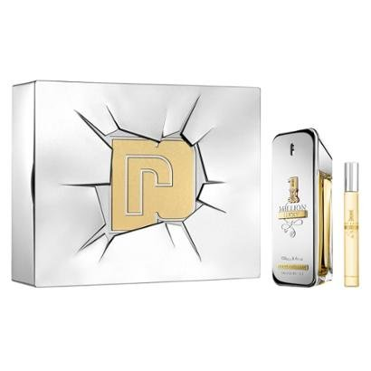 1 Perfume Masculino EDT 1 Million 100ml + 1 Miniatura 1 Million 10ml