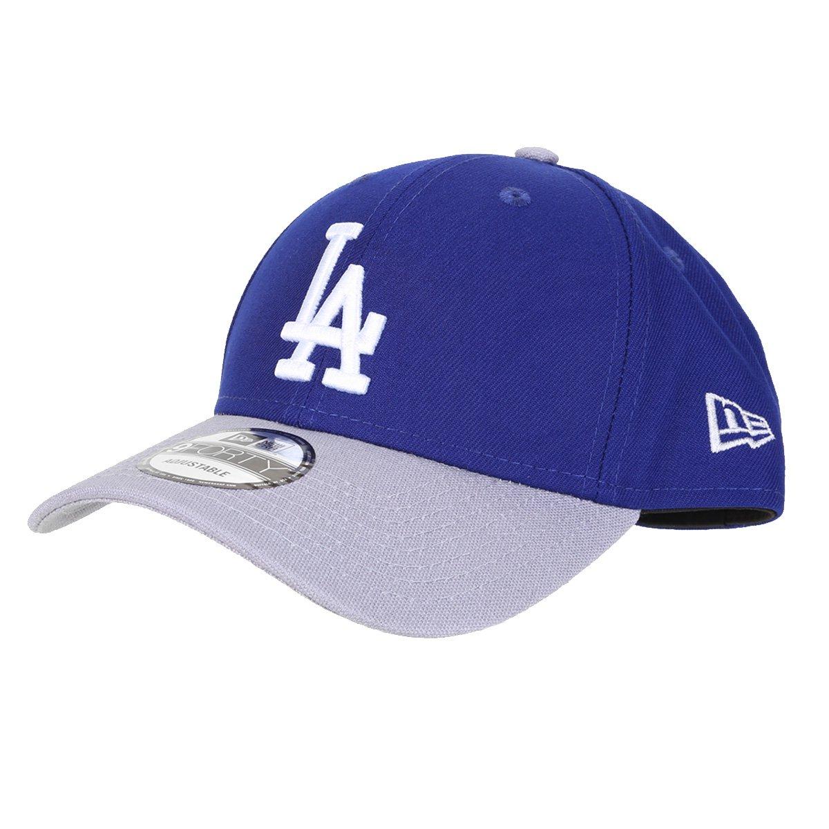 Boné New Era MLB Los Angeles Dodgers Aba Curva Snapback 9Fifty
