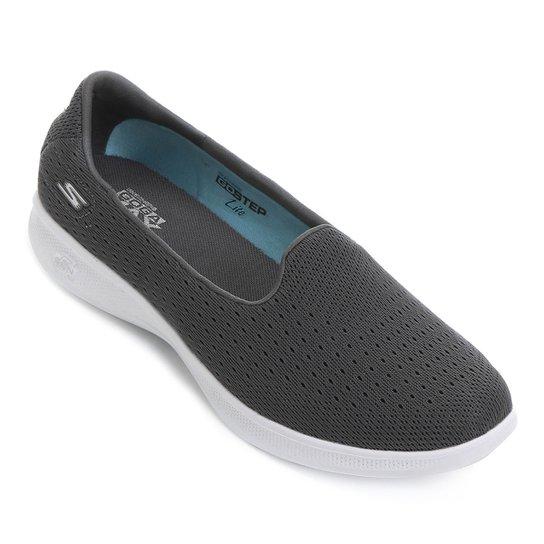 61fd42da0b9 Sapatilha Skechers Go Step Lite Origin Feminina - Cinza - Compre ...